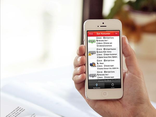 arac takip trio mobil